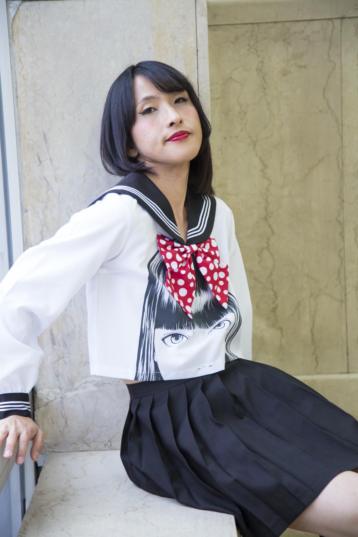 加藤恵さんのコスチューム